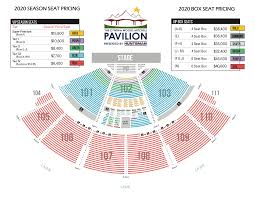 Cynthia Woods Seating Chart Season Seats The Pavilion
