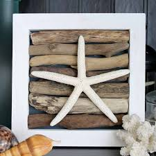 this starfish craft is perfect for easy beach wall art see how to make it
