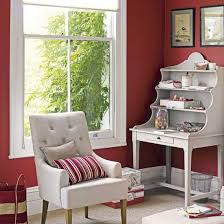 red home office. Red Home Office | Bold Colour Schemes PHOTO GALLERY Decorating Ideas