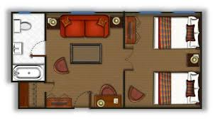 double bed top view. Fine Top View The Floor Plans And Double Bed Top