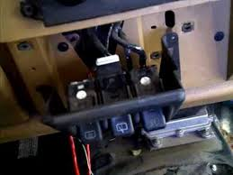 jeep tj wiper switch replaced jeep tj wiper switch replaced