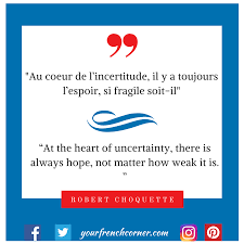 French Quotes Gorgeous 48 French Quotes To Restore Your Hope Now Your French Corner