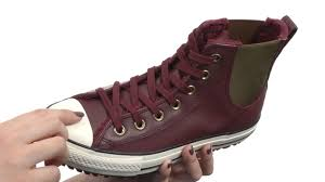 converse chuck taylor all star leather fur chelsea boot sku 8752173