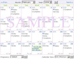 Calendars For Pregnancy Pregnancy Tracking Calendar Mymonthlycycles