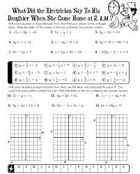 slope intercept equation math free collection of free math worksheets on slope intercept form math mugshot