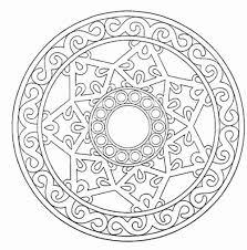 Free Printable Mandalas Coloring Pages Adults 50 With At Mandala For