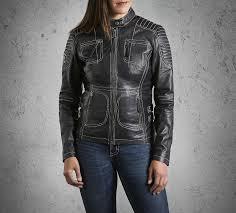 harley davidson women s agitator leather jacket 98086 15vw
