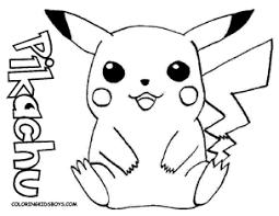 Pokemon Coloring Pages Pikachu Color Bros