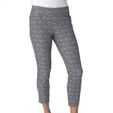 Footjoy Performance Light Rain Pants Womens Zero Restriction Becca Rain Pants Black Size 12 14