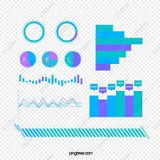 Blue Green Trend Color Business Visualization Icon Group Map