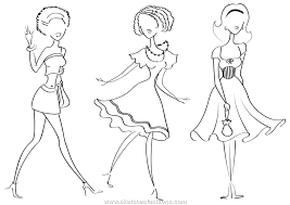 Small Picture fashion coloring pages free Archives Best Coloring Page
