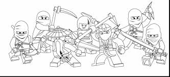 Small Picture Lego Ninjago Coloring Pages Free And zimeonme