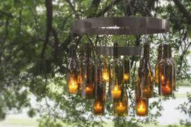 lighting uncorked lumineer wine bottle chandelier how to make a beer bottle chandelier