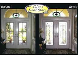 modern glass panel front door all frosted half privacy and decorating drop dead gorgeous f