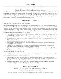 opening objective for resume resume management objective resume tutorial pro