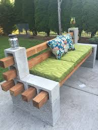 25 Creative Ways To Use Concrete Blocks In Your Home And Garden Do It Yourself Outdoor Furniture