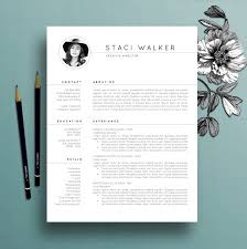 modern resume template 3pk cv template references letter creative resume template professional modern professional resume templates