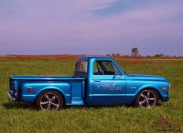 70 Chevy C10 Pickup Truck Rat Rod Hot Shop Patina Step Side 67 68 ...