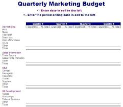 sales department budget template advertising budget template