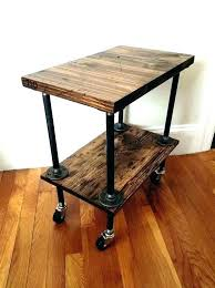 small end table with metal legs metal side table legs industrial coffee table legs metal pipe