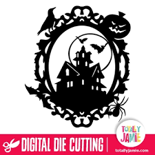 Download frame halloween png free icons and png images. Halloween Dracula Castle Ornate Oval Frame Totallyjamie Svg Cut Files Graphic Sets Clip Arts