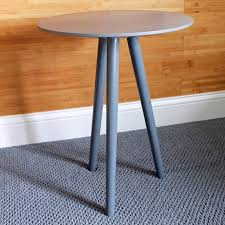 diy tripod table finished 4