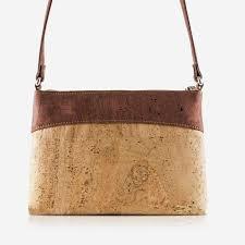 corkor cork purse cross women vegan bag free non leather natural red color handbags com