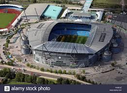Luftaufnahme von Manchester City FC Etihad Stadium Stockfotografie - Alamy