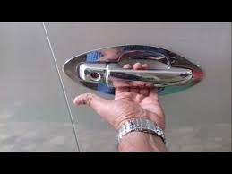 new maruti vitara brezza chrome door handle cover car care tips