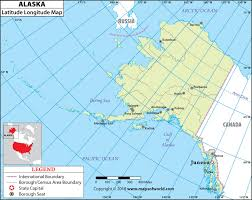 Texpertis Com Alaska Latitude And Longitude Map Alaska