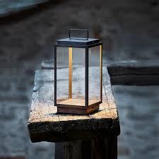 tekna lighting. nauticteknabe blakes table lamp weathered brass clear glass tekna lighting