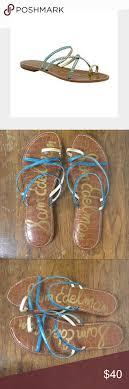 Sam Edelman Gillian Sandals Euc Size 7 5 Per Size Chart No