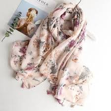 <b>VISROVER</b> cactus winter <b>scarf summer</b> viscose shawl <b>women</b> ladies ...