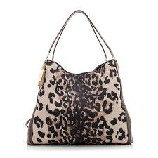 Coach Madison Ocelot Phoebe Shoulder Bag