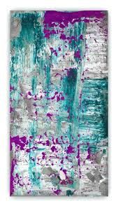 purple and blue wall art abstract painting large wall art canvas art purple plum grey gray purple and blue wall art