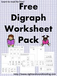 Digraph Worksheets - Free th, ch and sh digraph worksheets ...