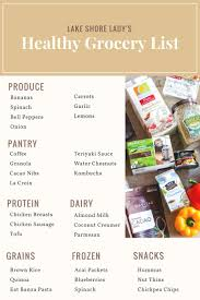 Typical Grocery List My Typical Healthy Grocery List Jewel Osco Home Delivery