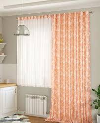 Комплект штор <b>ТомДом</b> Ленси (оранжевый), 205835