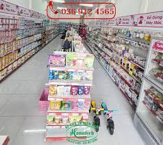 Kệ trưng bày shop mẹ và bé tại Cần Thơ | Giá kệ siêu thị tại Cần Thơ