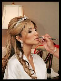 persian wedding makeup image