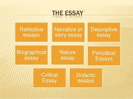prose  periodical essaysdidactic essays 4