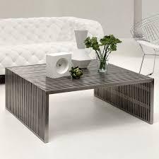 modern living room tables white