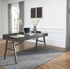 grey home office. Raventown - Grayish Brown Home Office Desk Grey