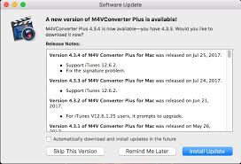 M4v Converter Plus For Mac Updated To Support Itunes 12 6 2 For