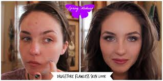 acne transformation makeup how i cover my acne pimples redness and s you