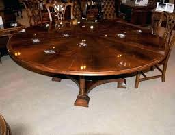 round expanding dining table expandable for amazing extending stuck farmhouse plans
