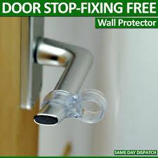 image is loading door stop wall protectors on door handle per