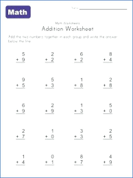 Mixed Addition Facts 3 Worksheets Free Printable Kindergarten 8 3rd ...