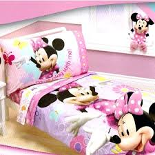 minnie mouse baby bedding set mouse comforter set toddler bed count with me bedding 1 minnie