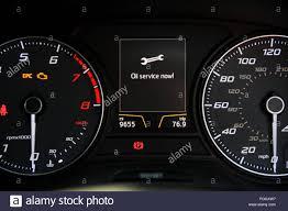Service Light On Dashboard Service Car Warning Light Stock Photos Service Car Warning